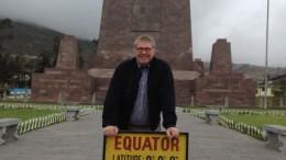 Arnold op de equator